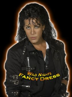 FANCY DRESS WIG # MICHAEL JACKSON OFFICIAL BAD WIG RRP £21.99